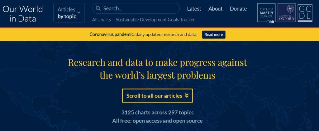 Our World in Data (データで見る我々の世界)